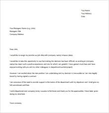 11 simple resignation letter templates free sample example simple letter of resignation template 1