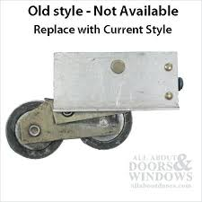 fix a sliding door without replacing the rollers with replacement wheels glass milgard slide