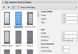 Type of picture frame Steel Door Leaf Type Door Leaf Type User Guide Page Graphisoft Help Center