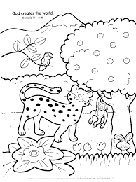 Coloring Pages For Sunday School Preschool Bible School Coloring