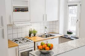 Apartment Kitchens Appealing Design Small Apartment With Bright Theme And Sleek