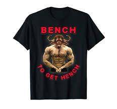 Bench T Shirt Design Amazon Com Bench To Get Hench T Shirt Bodybuilding Clothing