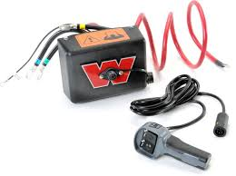 warn warn control pack volt dc large frame replacement for warn m12000 winch