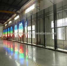 outdoor p50mm full color transpa led curtain display 1