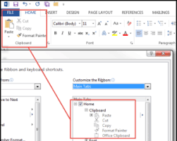 Word Ribbon How To Customize The Office 2013 Ribbon In Word Outlook