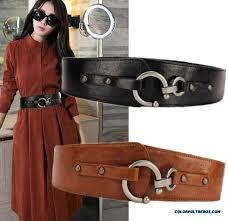 las wide leather belts