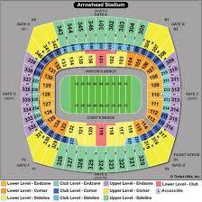 Sporting Kc Seating Chart Systematic Arrowhead Club Level Seats Missouri Football