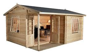 Home office cabin Wooden 4m 3m Greenacre Home Office Executive Log Cabin Pinterest 4m 3m Greenacre Home Office Executive Log Cabin Houses