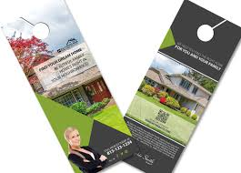 door hanger design real estate. Real Estate Door Hanger Ideas Hangers Creative Design N