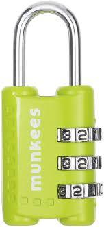 <b>Брелок</b>-<b>замок Munkees</b>, <b>кодовый</b>, <b>цвет</b>: зеленый — купить в ...