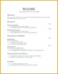 Free Printable Job Resume Templates For Teenager First Example Time