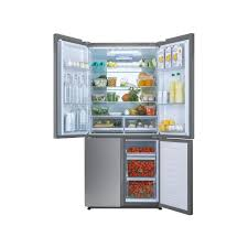 haier stainless steel fridge freezer. haier htf-452dm7 four door american fridge freezer stainless steel e