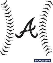 Pumpkin Stencils Atlanta Braves