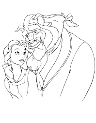 Download for free the beauty and the beast coloring pages for to print because these are in printable format. Beauty And The Beast Coloring Pages Coloring Home