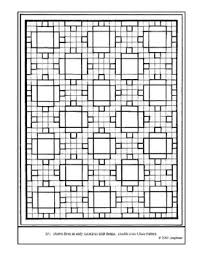 Free printable coloring pages and connect the dot pages for kids. Quilt Coloring Page Worksheets Teaching Resources Tpt