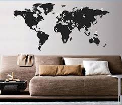 wall sticker decal with pointers