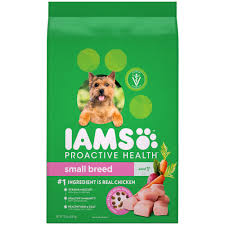 Iams Puppy Food Chart Iams Proactive Health Small Toy Breed Adult Dry Dog Food Chicken 7 Lb Bag