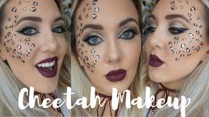 glam cheetah makeup tutorial