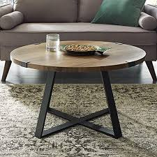 round coffee table rustic