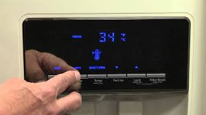 Whirlpool Cooling Off Light On How To Using Refrigerator Controls