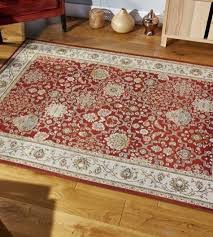 carlucci 73r rug in red cream