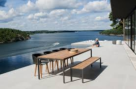 scandinavian outdoor furniture. view in gallery vintage chairs black add elegance to your outdoor dining space scandinavian furniture a