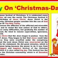 Christmas Day Essay Essay On Christmas Day In School Mistyhamel