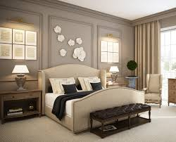 Elegant Bedroom Ideas Brown Leather Bed