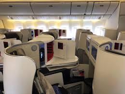 Review Air France 777 300er Business Class Paris To Dubai