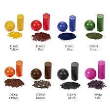 Liquid Candle Dye Color Chart Amazon Com 2 5 Oz Wax Dye For Candle Making 100 Lb Wax
