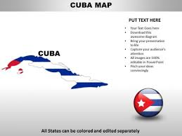 Country Powerpoint Maps Cuba Powerpoint Templates