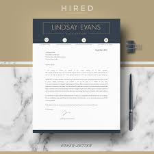 Modern Look Resume Resume Templates Hired Design Studio
