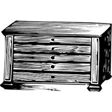 dresser clipart black and white. dresser clipart black and white