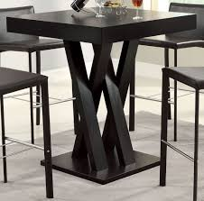 modern high kitchen table. Perfect Table Best Finish For A Kitchen Table Black Tall  Whatu0027s Also  Great About Kitchen On Modern High A
