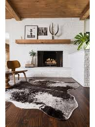 faux cow hide rug rugs ideas