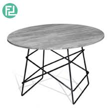 dbot wolf round coffee table solid