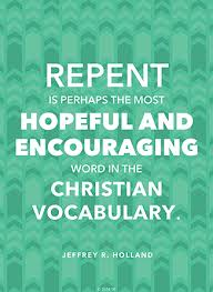 Encouraging Christian Quotes Amazing Repent