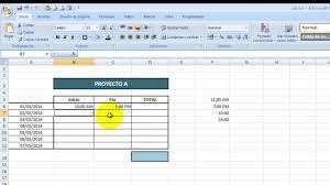 Tutorial Excel Cap 53 Contar Horas
