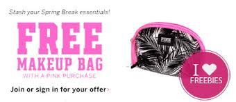 code mugeek vidalondon set victoria s secret free makeup bag