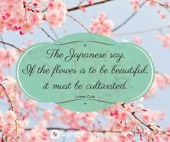 Quotes On Flowers And Beauty