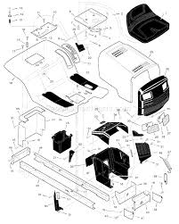 murray 46570x8a parts list and diagram 1998 click to close