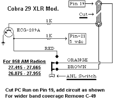 cobra 29 mic wiring diagram cobra 29 mic wiring diagram and cobra radios modifications cobra 29 mic wiring diagram cb