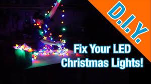 Youtube How To Fix Christmas Lights How To Fix Led Christmas Lights