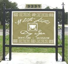 Decorative Sign Posts Art SignWorks Wrought Iron Scroll Brackets Posts For Signs 31