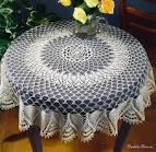 Вязание скатерти для стола