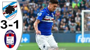 Sampdoria vs Crotone 4-1 All Goals & Highlights 19/12/2020 HD - YouTube