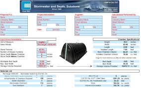 Cultec Stormwater Design Calculator Stormgenie Automated Drawing Program Cultec Inc