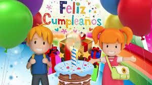 tarjetas de cumplea os para ni as cumpleaños feliz para niños canción popular infantil youtube