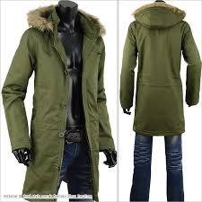 mods coat men s coat military cotton fur boa coat winter coat s280819 01