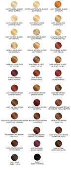 Garnier Color Naturals Shades Chart Hair Color Chart With 68 Shades From Loreal Clairol